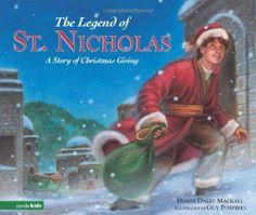 The Legend of St. Nicholas: A Story of Christmas Giving by Dandi Daley Mackall, http://www.amazon.com/dp/0310713277/ref=cm_sw_r_pi_dp_u3CPqb120NZ2D