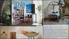 home-lust.com features in Irish interiors magazines and Irish design blogs Drinks Trolley, Country Magazine, Irish Design, China Display, Interiors Magazine, Design Blogs, Lust, Magazines, Mid Century