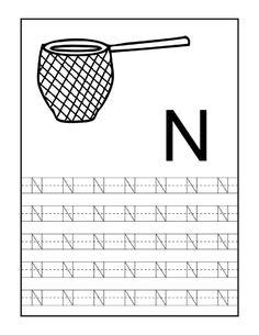 Nauka pisania – litery od N do Z Handwriting Worksheets For Kids, Letter Tracing Worksheets, Literacy Worksheets, English Grammar Worksheets, Alphabet Tracing, Free Preschool, Preschool Learning, Teaching, Mj