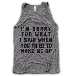 Haha #sorrynotsorry
