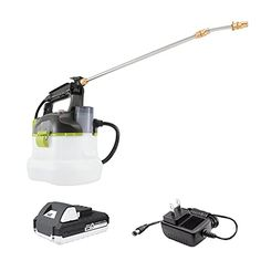 """Amazon has the Sun Joe 24V-GS-LTW 24-Volt Amp 1-Gallon Multi-Purpose Chemical Sprayer, Kit (w/ 1.3-Ah Battery + Quick Charger) marked down from $110.98 to $49.99. That is 55% off retail price! TO GET THIS DEAL: GO HERE to go to the product page and click on """"Add to Cart"""" Final price = $49.99 Shipping is…"""