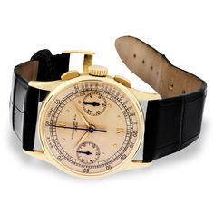 Patek Philippe Chronograph Compliated Watch -  39mm 18K yellow gold case