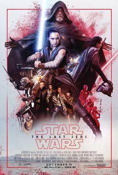 Star Wars the Last Jedi poster!