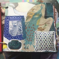 What is your brand? Sarah from Sashleydesigns was able to pinpoint that for me in a very special journal. She took bits and pieces that came from my shop and mashed them into a beautiful art piece that reminded me how much I love what I do. 2/25
