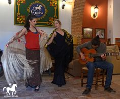 Flamenco dancing (optional activity at Epona), dressage in Spain, spanish
