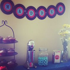 Rock & Roll baby Shower