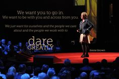 Brene Brown at Photo by James Duncan Davidson. Ted Quotes, The Gift Of Imperfection, Ted Speakers, Rising Strong, Daring Greatly, Brene Brown, Leadership Quotes, Favorite Words, Photos Of Women