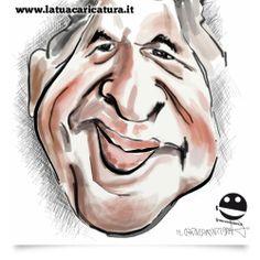 """www.latuacaricatura.it  Caricatura n. 17 """"Grande Fabio! pubblichiamo col tuo permesso la tua caricatura e grazie mille per iltuo meraviglioso feedback!"""""""