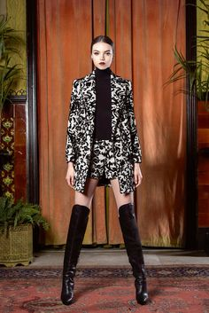 Alice + Olivia | Fall/Winter 2015 Ready-to-Wear Collection via Designer Stacey Bendet | February 16, 2015; New York