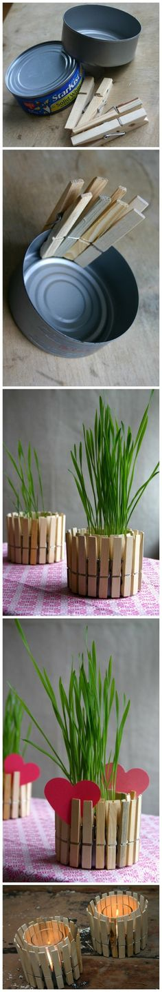 This would be great on my shelf above the washer and dryer. Plants for the warm seasons and candles for the cold seasons.