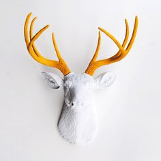 Stag's Head Wall Art - Down by the Lake Collection - Dot & Bo #DotandBoDream