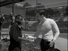 American History X...everyone should see this film....very powerful.