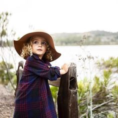 Fall is finally coming around here. And I mean... this. Thank you @jeadoreblogger for this snap! Her little face! That hat! [dress coming Wednesday]. #neveandhawk #neveandhawkfw15 by neveandhawk