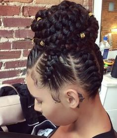 20 Braided Prom Hairstyles Fit For A Queen Braided Prom . - 20 Braided Prom Hairstyles Fit For A Queen Braided Prom Hairstyles – 20 - Braids For Black Hair, Black Girl Braids, Braids In A Bun, Jumbo Braids, Braids Cornrows, Ghana Braids, Fishtail Braids, Braided Bun Black Hair, Cornrows Into A Bun