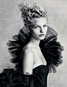 Frederikke Sofie by Patrick Demarchelier for Vogue Australia, October 2016