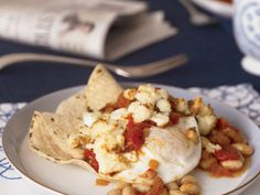 White Bean Huevos Rancheros | Food & Wine goes way beyond mere eating and drinking. We're on a mission to find the most exciting places, new experiences, emerging trends and sensations.