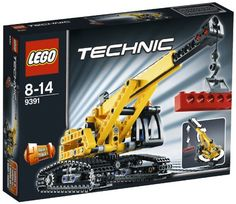 LEGO Technic 9391: Tracked Crane - http://www.cheaptohome.co.uk/lego-technic-9391-tracked-crane/