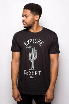 Desert T-shirt Black – MNKR