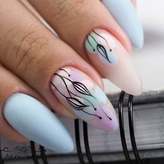 nails how to Chic Nails, Stylish Nails, Trendy Nails, Gold Gel Nails, Pink Nails, Nail Salon Design, Floral Nail Art, Manicure E Pedicure, Dream Nails