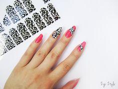 ZigiZtyle: Full Nail Stickers + Tutorial