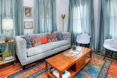 Mina and Karen of HGTV's Good Bones renovate a small two-story house in the historic Bates-Hendricks neighborhood in southeast Indy, creating a cottage charmer with a coastal vibe and explosions of color.