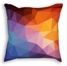 Bright Geometric Custom Pillow Custom Pillows, Pillow Inserts, Bright, Throw Pillows, Castle, Etsy, Cushions, Personalized Pillows, Decorative Pillows
