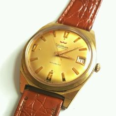 24845b5caa0 Vintage Waltham Mechanical Hand Winding Men s by DNWatchshop