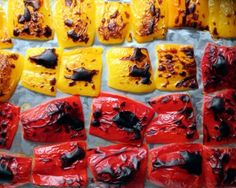 How to Make Roasted Peppers