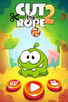 Cut the Rope 2 on Behance