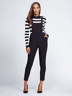 d9d98f7a1a14 Black Overall - Gabrielle Union Collection