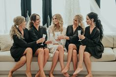 A Modern Black and White Urban Wedding - The Wedding Playbook