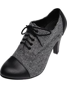 Zapatos Derby                                                                                            negro Mujer