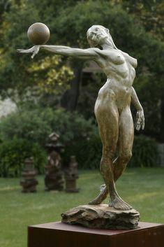 Balance (Painting), ft by Paige Bradley Bronze sculpture Human Sculpture, Bronze Sculpture, Art Sculptures, Art Original, Erotic Art, Belle Photo, Figurative Art, New Art, Sculpting