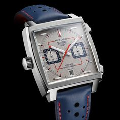 TAG Heuer unveiled the third of five limited-edition Monaco timepieces created to celebrate the Anniversary of the Monaco. Limited to 169 watches, the TAG Heuer Monaco Calibre 11 Anniversary Special Edition ref. has a price of Swiss Francs Monaco Tag Heuer, Patek Philippe, Breitling, Kiosk Design, Bell Ross, Skeleton Watches, Limited Edition Watches, Elegant Watches, Beautiful Watches
