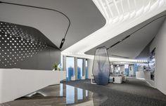 Mall Design, Store Design, Hall Interior Design, Design Bedroom, Glass Curtain Wall, Corporate Office Design, Futuristic Design, Hotel Lobby, Common Area