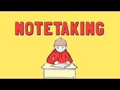 This is a good video on HOW to take notes based on the Cornell note taking system. It's made by a biology teacher, but the system can be used for any class when taking notes on class, reading text, or watching a video that you need to take notes on. Science Classroom, Teaching Science, School Classroom, Classroom Ideas, Study Skills, Life Skills, Learning Skills, Teaching Strategies, Teaching Tips
