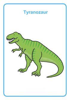 Dzień Dinozaura - nazwy, rodzaje. Plansze dydaktyczne i edukacyjne i nazwami popularnych dinozaurów. Do pobrania za darmo i wydrukowania. Edukacja dzieci. Grinch, Luty, Education, School, Vocabulary, Dinosaurs, Cards, The Grinch, Schools