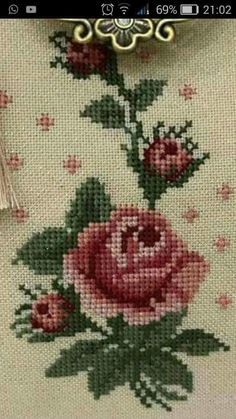 Cross Stitch Heart, Cross Stitch Borders, Cross Stitch Flowers, Cross Stitch Designs, Cross Stitch Patterns, Owl Quilt Pattern, Quilt Patterns, Ribbon Embroidery, Cross Stitch Embroidery