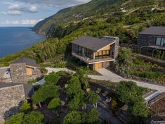 Image 13 of 52 from gallery of Lava Homes / Diogo Mega Architects. Photograph by Miguel Cardoso Lava, Water Tank, Old Houses, Interior And Exterior, Facade, House Design, Mansions, Landscape, Architecture