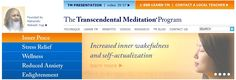 Transcendental Meditation, I learned from Nancy Cooke de Herrera - LOVE IT.
