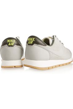 Nike | Air Pegasus '83 suede and textured-leather sneakers | NET-A-PORTER.COM
