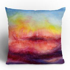Fine art throw pillow....