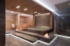 luxe badkamer met sauna - Google претрага