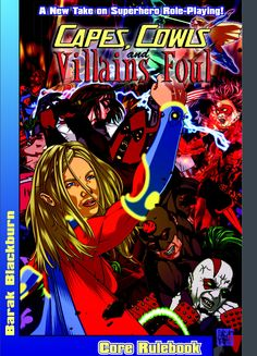 Capes Cowls and Villains Foul RPG