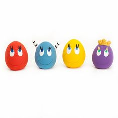 OVO the Egg Large: Red/ Yellow + 2 character eggs (set of 4)