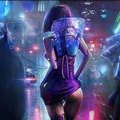 Cyberpunk lady android robotic cyborg woman, back view, in futuristic cyberpunk . - Cyberpunk lady android robotic cyborg woman, back view, in futuristic cyberpunk fashion costume sci - Cyberpunk 2077, Cyberpunk Mode, Cyberpunk Kunst, Cyberpunk Girl, Cyberpunk Aesthetic, Cyberpunk Fashion, Fantasy Girl, Chica Fantasy, Matte Painting