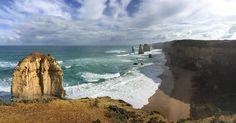 Twelve Apostles Great Ocean Road VIC  #twelveapostles #12apostles #greatoceanroad #greatoceanroadtrip #travel #travelling #victoria #australia #roadtrip #sea #ocean #nofilter #iphone6plus by ekaannash