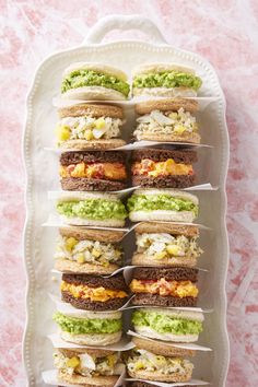 Mother's Day Brunch Ideas from Good Housekeeping Magazine Online - Crab, Mango and Cucumber Finger Sandwiches! Easter Appetizers, Easy Appetizer Recipes, Appetizers For Party, Halloween Appetizers, Meat Appetizers, Halloween Finger Foods, Halloween Food For Party, Spooky Halloween, Healthy Halloween