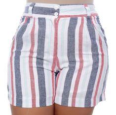 Shorts de Linho Plus Size Dielle Smart Shorts, Cute Shorts, Shorts Bonitos, Plus Size Beauty, Plus Size Model, African Dress, Dress To Impress, Blouses For Women, Plus Size Fashion