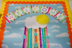 Cool High School Bulletin Boards | Welcome Back Bulletin Board Ideas | Bulletin Board Ideas & Designs I love all the colors.